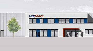 Das LapStore Bautagebuch