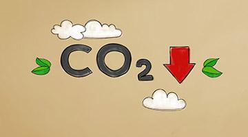 Einsparung von 14,5 Tonnen Kohlendioxid