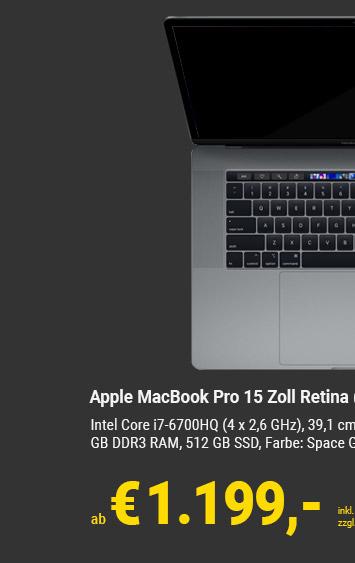 Apple MacBook 15 Zoll