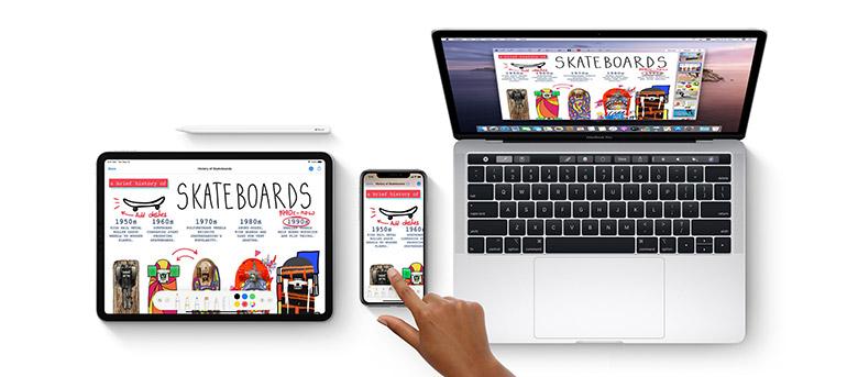 Apple Continuity MacBook iPad iPhone