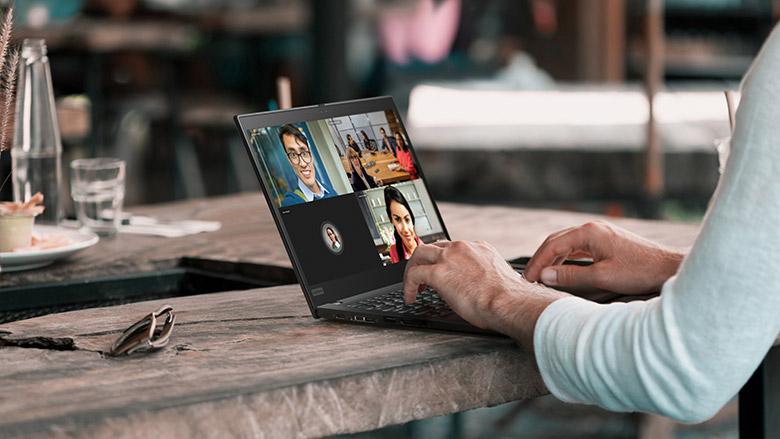 Lenovo ThinkPad Notebook Office Zoom Videokonferenz