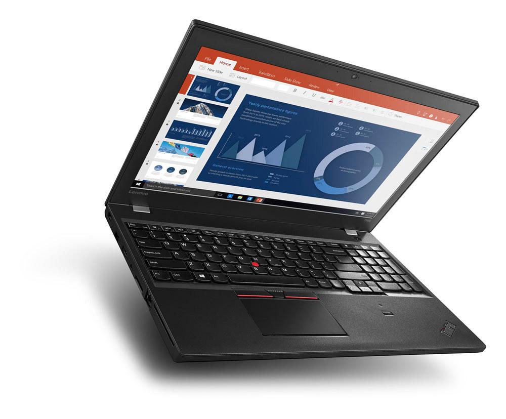 Lenovo ThinkPad T560 Office Diagramm Blau